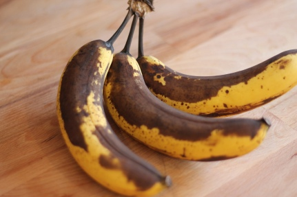 Brown bananas - would you eat them?